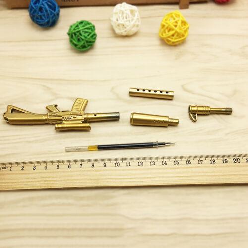 Fancy&Fantasy Rifle Shape Black Ink Ballpoint Pen Stationery Office Ball Point 7