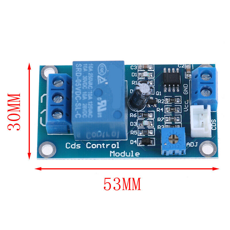 DC5//12V Lichtschalter Fotowiderstand Relaismodul XH-M131 Detection.Senso ar
