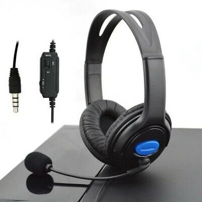 Wired Stereo Bass Surround Gaming Headset for PS4 New Xbox One PC with Mic 2