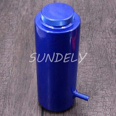 800ml Blue Overflow Catch Tank Radiator Coolant Expansion Tank Bottle Header 6
