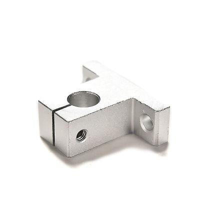 2Pcs NEW SK10//12//16mm Bearing CNC Aluminum Linear Rail Shaft Guide Support