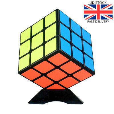 Kids Rubiks Cube Fun Original Toy Rubic Magic Mind Game Classic Rubix Puzzle 3X3 4
