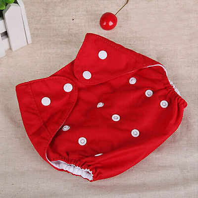 Adjustable Reusable Lot Baby Boy Girls Washable Cloth Diaper Nappies HOT SALE 8