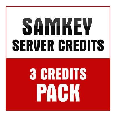 SamKey Code reader 3 Credits UNLOCK  SAMSUNG New account/Refill -Fast Service- 2