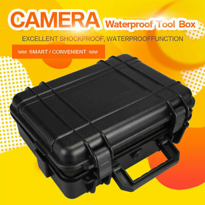 Protective Equipment Hard Carry Case Plastic Box Camera Travel Protector 2 Sizes 2