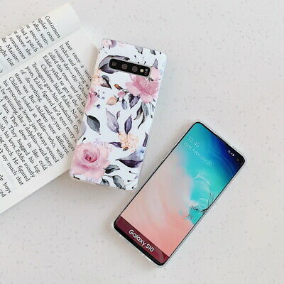 Shockproof Flower Slim Phone Case Cover For Samsung Galaxy S10 Plus A70 A50 S9 8