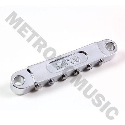 7 String Tune-O-Matic Bridge BM007 Black Sung-il Korea for LP SG 335 TOM NEW