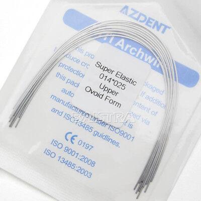Dental Orthodontic Arch Wires Super Elastic Niti Rectangular Ovoid All Sizes 5