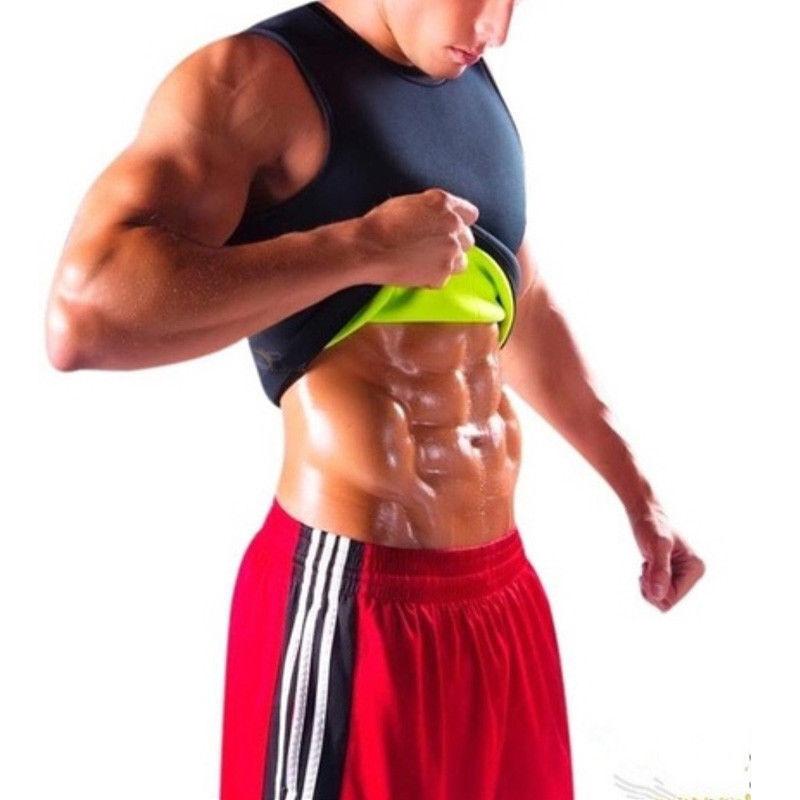 Men Neoprene Vest Cami Hot Shaper Gym Women Sauna Sweat Thermal Tank Top Girdles 6