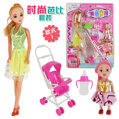 5X DIY Princess Dress Stickers Lovely Girl Dress up Changing Clothes Kids Toy.IC