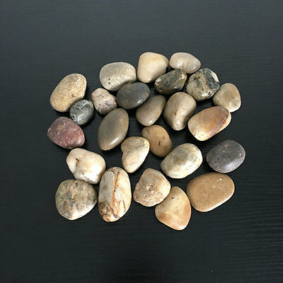 1kg Large Assorted Browns Natural Stones Pebbles Aquarium Decoration Garden Vase 4
