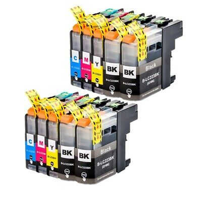 Cartuchos de Tinta Compatibles Non Oem para Brother LC223 LC-223 LC 223 XL LC221 5