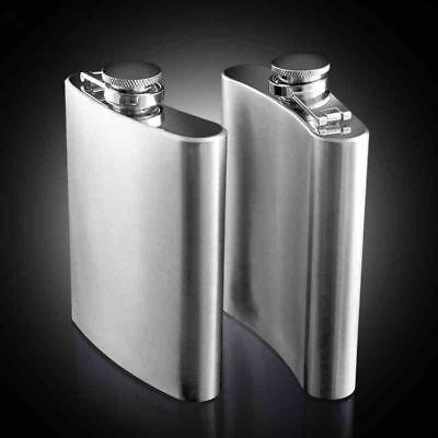 4 5 6 7 8 9 oz Stainless Steel Hip Flask Drink Whiskey Vodka Case Holder Pocket 2
