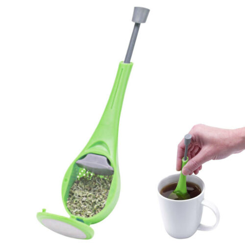 infuseur th filtre passoire silicone tea vert boule a the infuser eur 1 70 picclick fr. Black Bedroom Furniture Sets. Home Design Ideas