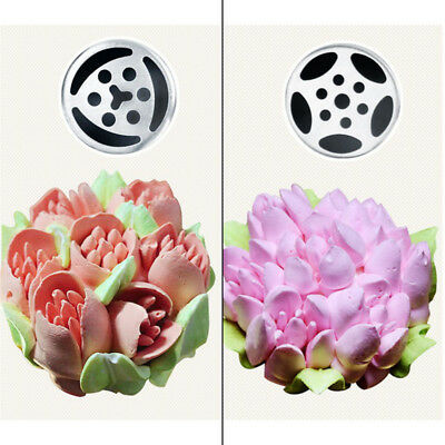 7Pcs Russian Tulip Flower Cake Icing Piping Nozzles Decorating Tips Baking Tools 4