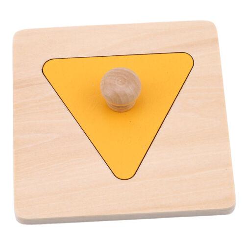 Children/'s Toys And Learning Tree Geometric Shape Panels Preschool Education LH