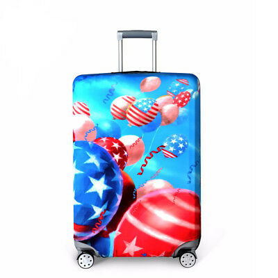 """Elastic Thick Suitcase Protective Cover Luggage Case Cover 18""""-32"""" Anti Scratch 4"""