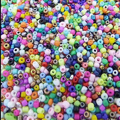 2000PCS Ceramic Barrel Pony Loose Beads Fashion Jewelry Making DIY 2mm Seed diy