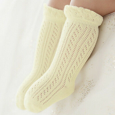 Baby Girls Socks Newborn Summer Infant Baby Knee High Stockings Long