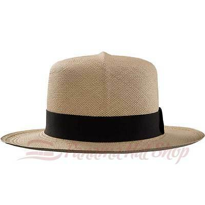 c02e7422b AUTHENTIC PANAMA HAT: Colonial Straw Hat - Optimo Hat