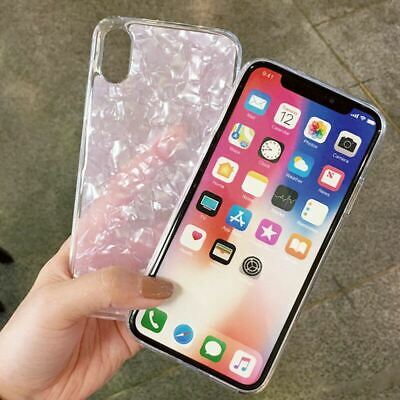 Case for iPhone XR XS MAX 8 7 6 6S Plus ShockProof Marble Phone Cover Silicone 11