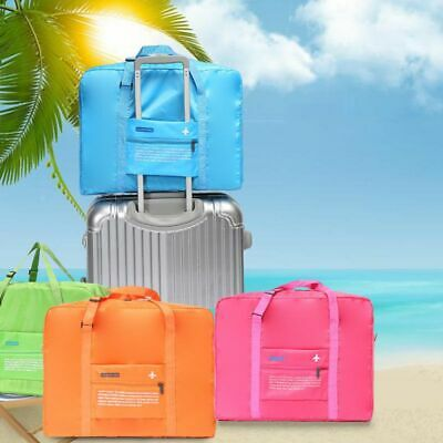 Foldable Large Duffel Bag Luggage Storage Bag Waterproof Travel Pouch Tote Bag 2