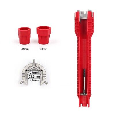 8 In 1 Water Pipe Wrench For Plumbers And Homeowners Faucet&Sink Installer Tool 7