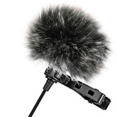 Universal Furry Outdoor Microphone Windshield Wind Muff Lavalier Lapel Mic RODE 3