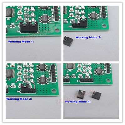 DC 5V-12V 2-phase 4-wire Micro MINI Stepper Motor Driver Speed Controller Module 3