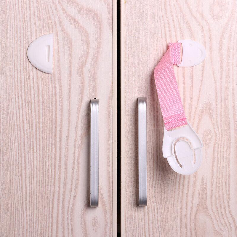 Baby Kids Safety Lock Box Drawer Cupboard Cabinet Fridge Door Child Proof 6