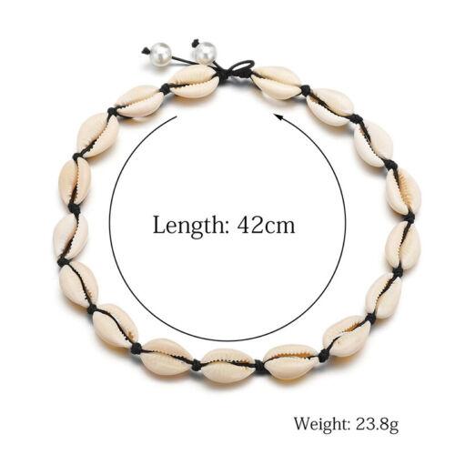 Natural Cowrie Sea Shell Choker Necklace Boho Surfer Beach Tribal Puka Jewelry 3