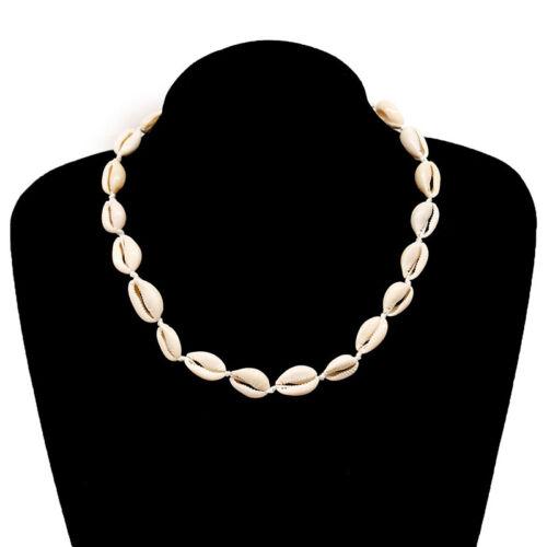Natural Cowrie Sea Shell Choker Necklace Boho Surfer Beach Tribal Puka Jewelry 4
