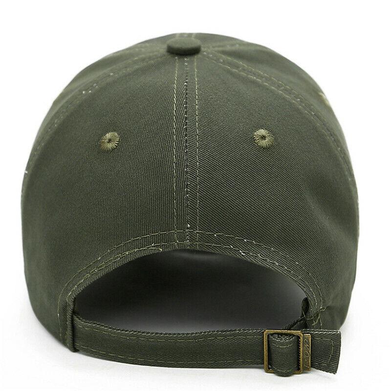 6d732e0d48a Baseball Cap Mens Tactical Army Military Dad Hat USA American Flag Visor  Hats US 5 5 of 6 ...
