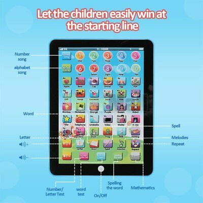 Kids Children TABLET MINI PAD Educational Learning Toys Gift For Boys Girls Baby 2