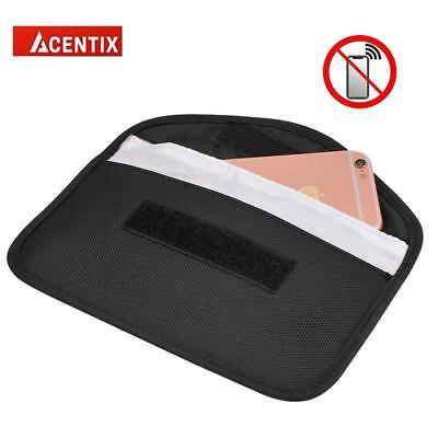 Car Key Faraday Bag Keyless Entry Fob Signal Guard Blocker 2X Wallet Pouch-Large 4