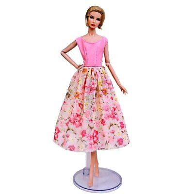 "Fashion Doll Clothes For 11.5"" Doll Dress Outfits Gown Top Floral Midi Skirt 1/6 9"