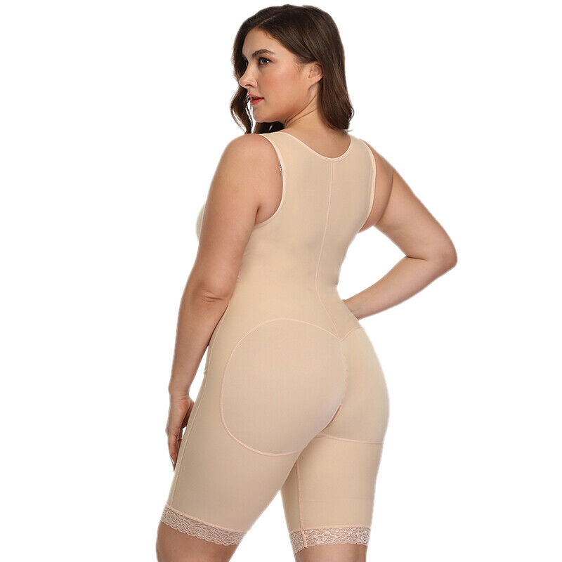 Women Body Shaper Girdle Strong Support Shapewear Slim Cincher Corset Plus Size 7