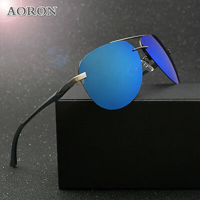 f7105ea467 1 of 12FREE Shipping Aluminum frame Polarized Sunglasses Men s Driving  Glasses Sports Goggles Eyewear