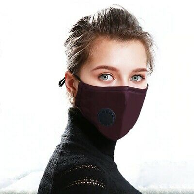 Face Mask Cotton Reusable Air Purifying Washable Mask Haze Pollution+face shield 8