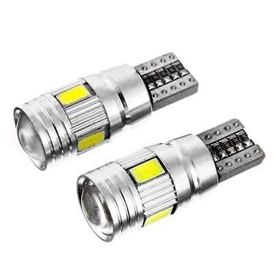 2 X T10 501 194 W5W 5630 LED 6SMD Car HID CANBUS Error Free Wedge Light Bulb New 10