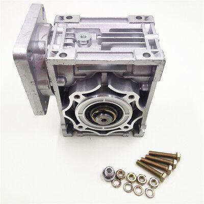 Worm Gear Reducer RV040 NEMA24/34 Speed Gearbox 10 15 20 25 30 40 50 60 80 100:1 6