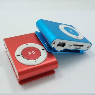 Mini USB Clip Sport MP3 Player Walkman Support Up To 64GB Micro SD Memory Card 7