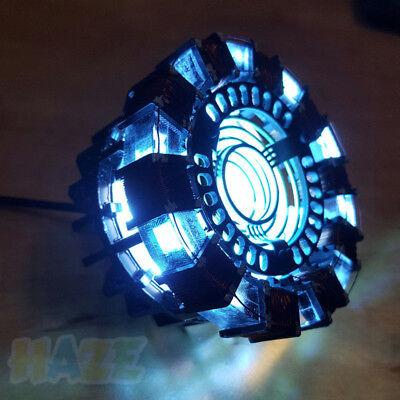 DIY Iron Man Tony Stark MK1 Arc Reactor Display Box USB Powered/Remote Control 3