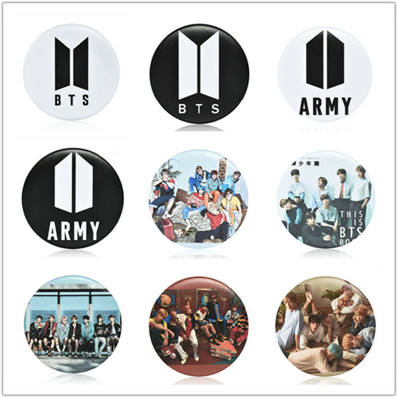 KPOP BTS Bangtan Boys Q Styles Brooch Pins Badge Broches For Clothes Backpacks 2