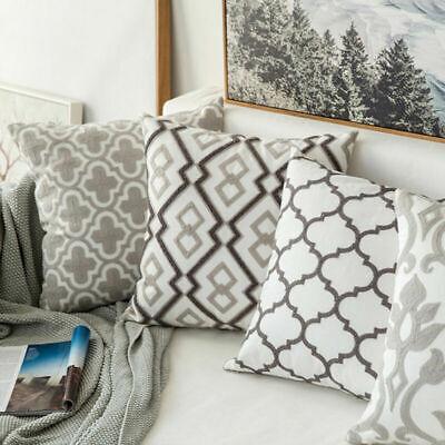 Stripe Pillowcase Cushion Case Home Decoration Cotton Linen Cushion Cover Gift 2