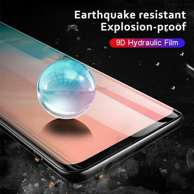 For Samsung Galaxy S20+ S20 Plus Ultra Hydrogel Full Cover Film Screen Protector 4