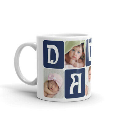 Personalised Mug Collage Photo Image Pictures Add Any Text Gift Tea Coffee Cup 9