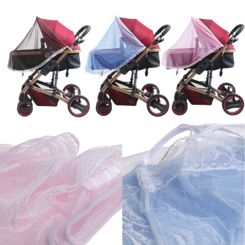 Baby Infants Stroller Pushchair Anti-Insect Mosquito Net Netting Cover Safe Mesh