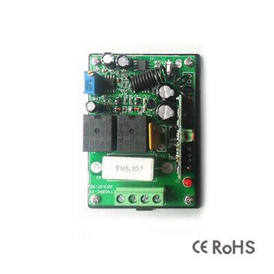 2-Kanal Fernsteuerung 12V  mit Handsender 433,92 MHz
