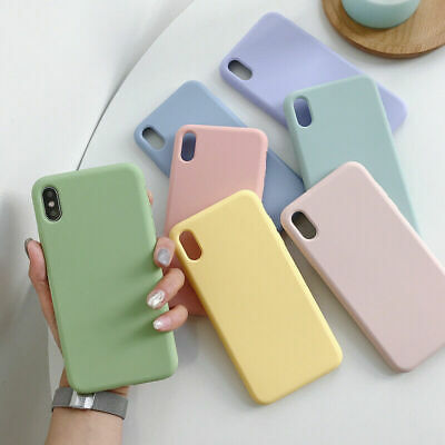 Case For Apple iPhone 11 Pro Max XS Max XR X 8 7 6S Plus Silicone TPU Slim Cover 4